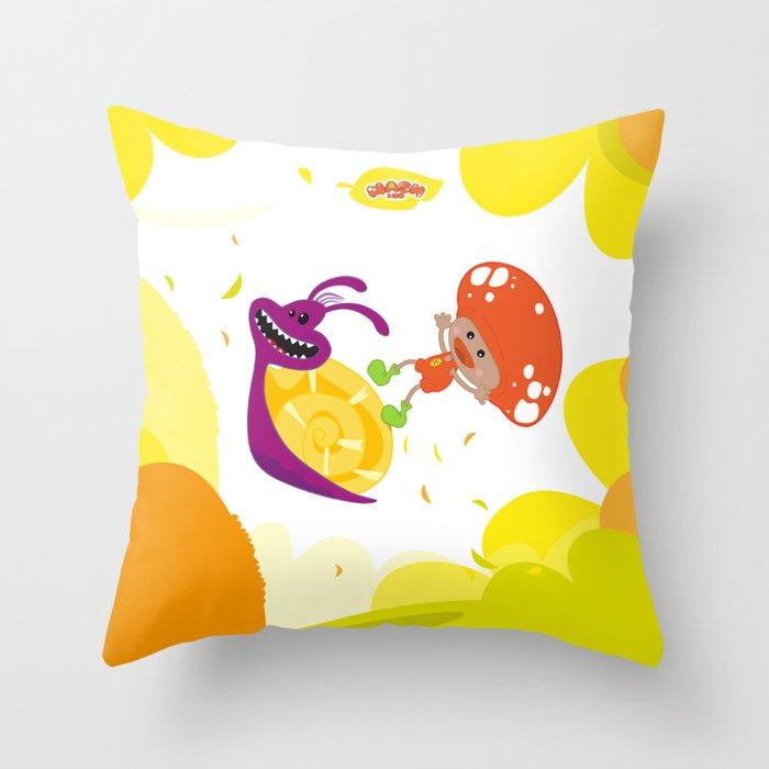 Mash&Co Jumping  Throw Pillow