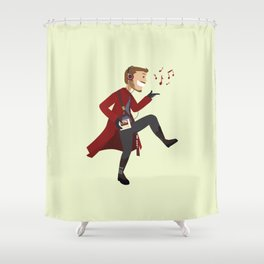 Dancing Quill Shower Curtain