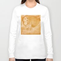 pocahontas Long Sleeve T-shirts featuring Pocahontas by Sierra Christy Art