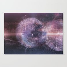 Listen the Universe Canvas Print