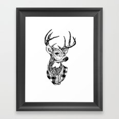 Mr Deer Framed Art Print