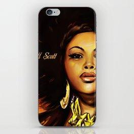 Jill Scott iPhone Skin