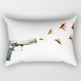 My Love Gun in Color Rectangular Pillow
