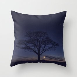 Planetary Alignment Throw Pillow