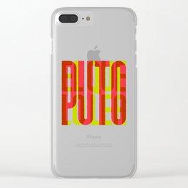 Puto el que lo lea Clear iPhone Case