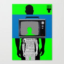 Brother/Man: Always Onstage Canvas Print