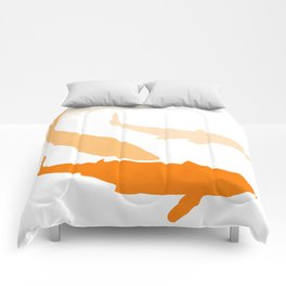watercolor fishes Comforters
