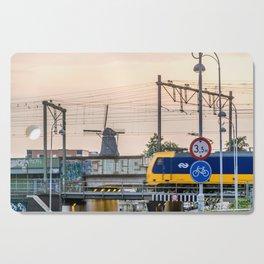 Sunrise Commute Cutting Board
