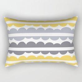Mordidas Primrose Yellow Rectangular Pillow