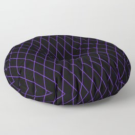 Sly Fox Purple Floor Pillow