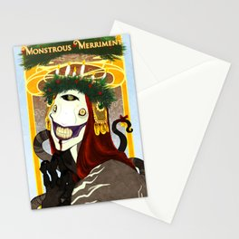 Monstrous Merriment Stationery Cards