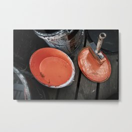 Urban Tools - Paint Brush Metal Print