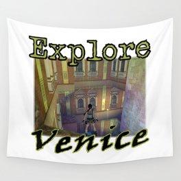 Explore Venice Wall Tapestry