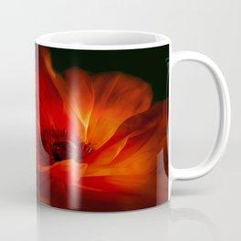 Mohnblüte bei Nacht Coffee Mug