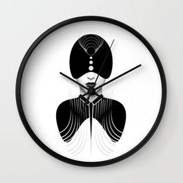 Dark Homonyms III Wall Clock