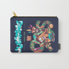 Jumping Since the 90s // 90s Kid, Bandicoot, Platformer Carry-All Pouch