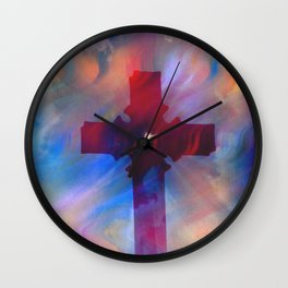 The Cross5 Wall Clock