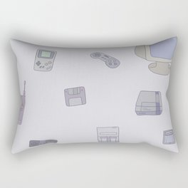 many times never lived Rectangular Pillow