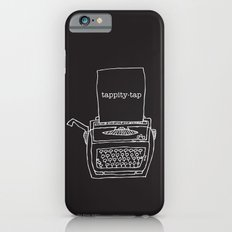 Vintage typewriter negative iPhone 6 Slim Case