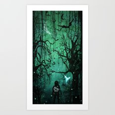 It's Dangerous to Go Alone Art Print