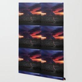 Sunset at Kalapana 2 Wallpaper