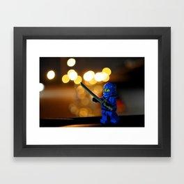 Lego Ninjago Jay Framed Art Print