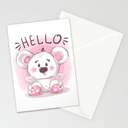 Cutiest Teddy Bear Stationery Cards