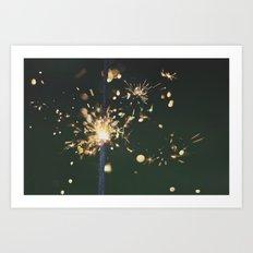 sparkle Art Print