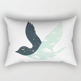 Bipolar Bird Rectangular Pillow
