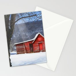 Little Red House Stationery Cards