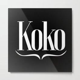 Koko Official Metal Print