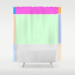Re-Created  Supreme Court ii by Robert S. Lee Shower Curtain