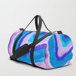 AGATE Inspired Watercolor Abstract 11 Duffle Bag