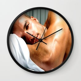 No Work Today Wall Clock