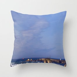 The Dying Island Throw Pillow