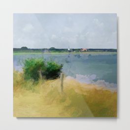 The best place for relaxing - Amrum Metal Print