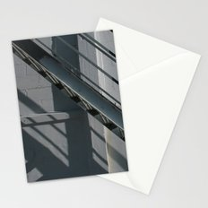 Stairs Black and White Stationery Cards