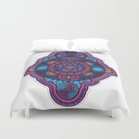 scully Duvet Covers featuring Scully  by Susan Gottardi