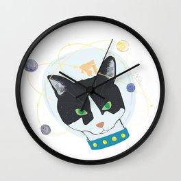 Oscar the Astronaut Wall Clock