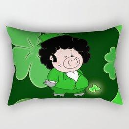 Luck of the Irish Rectangular Pillow