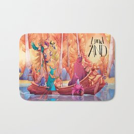 Land of AND - Boat Bath Mat