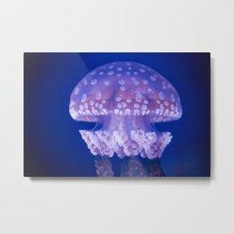 Jellyfish Mushroom Bloom - Photography Metal Print