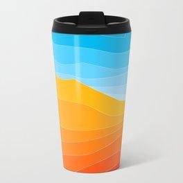 Strata Metal Travel Mug