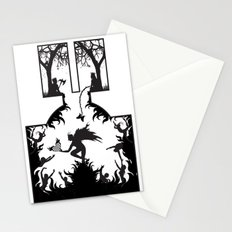 Star Crossed Inferno Stationery Cards