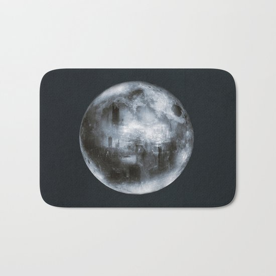 The Dark Side of the Moon Bath Mat