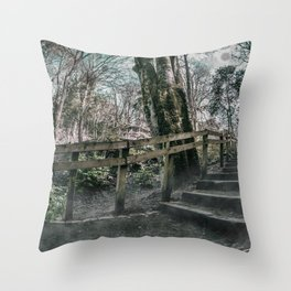 Journey Through the Woods. Throw Pillow