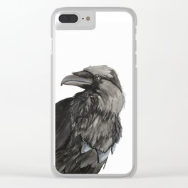 The Raven Clear iPhone Case