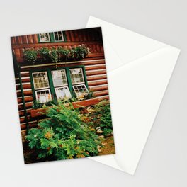 Cabin life Stationery Cards