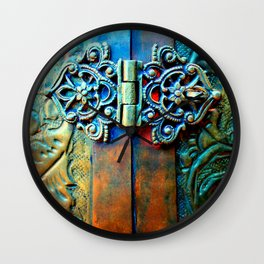 Ophelia (Patina) Wall Clock