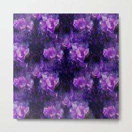 Stylin Purple.... Metal Print